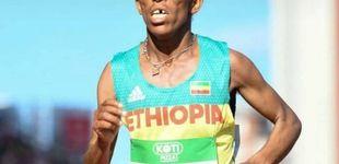 Post de Girmawit Gebrzihair, la atleta de 16 años que ha levantado polémica por su físico