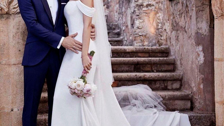 La boda de Bisbal y Rosanna. (EFE)