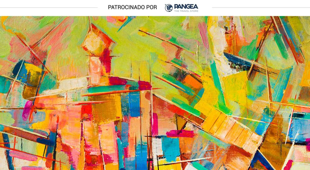 Foto: Una pintura abstracta (Shutterstock)