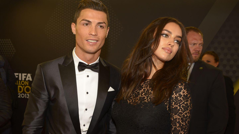 Cuando Cristiano Ronaldo e Irina Shayk eran pareja. El cambio físico y de actitud de la modelo a día de hoy es muy evidente. (Gtres)