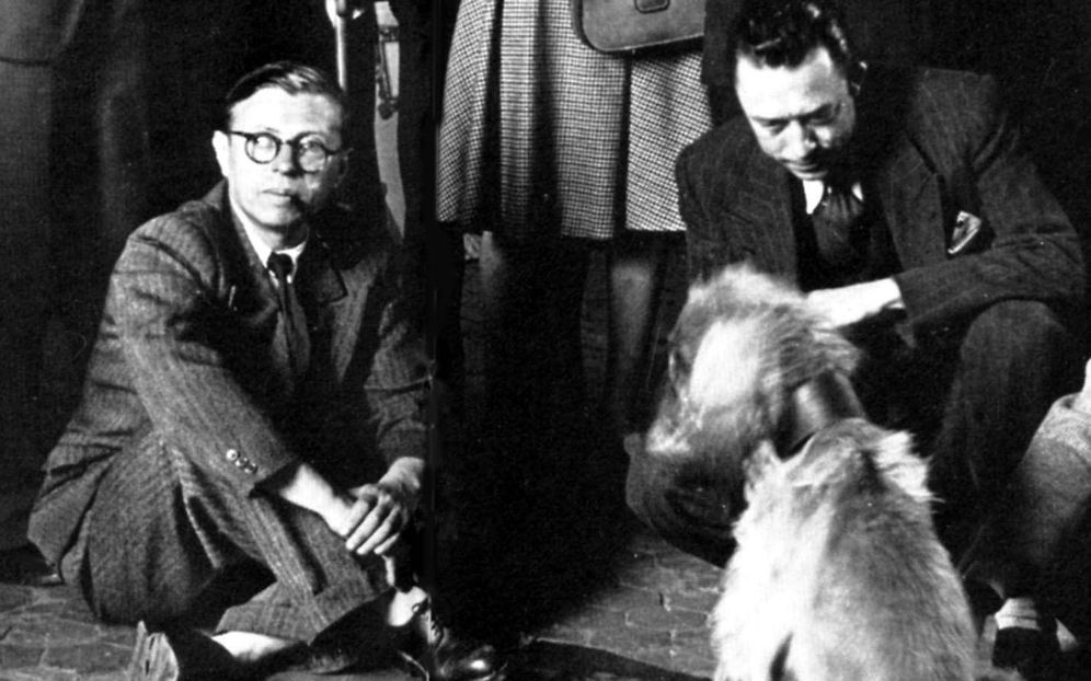 Foto: Sartre y Camus