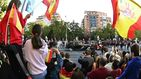 Gritos de dimisión y abucheos a Pedro Sánchez en el desfile del 12 de octubre