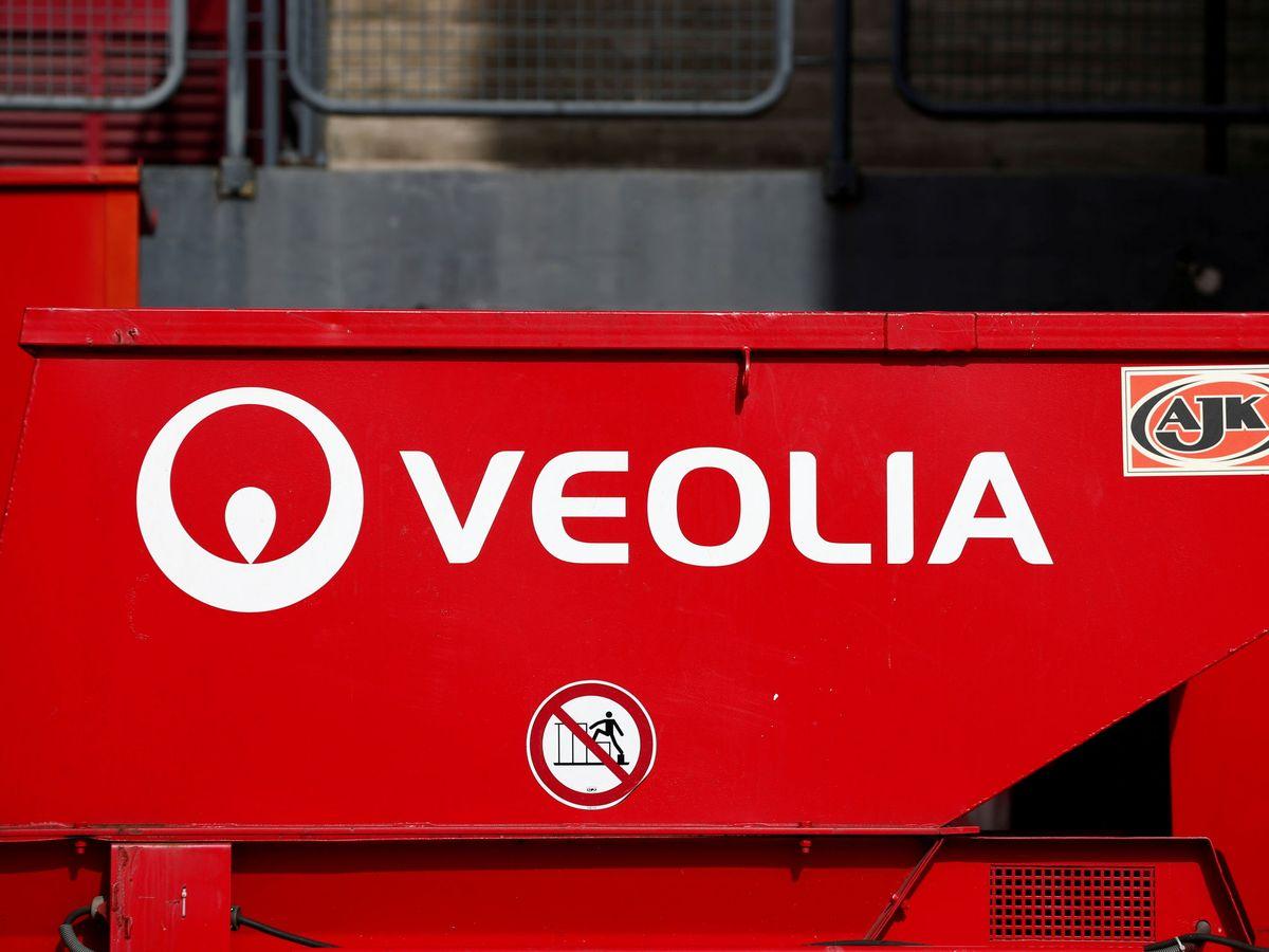 Foto: Logo de Veolia. (Reuters)