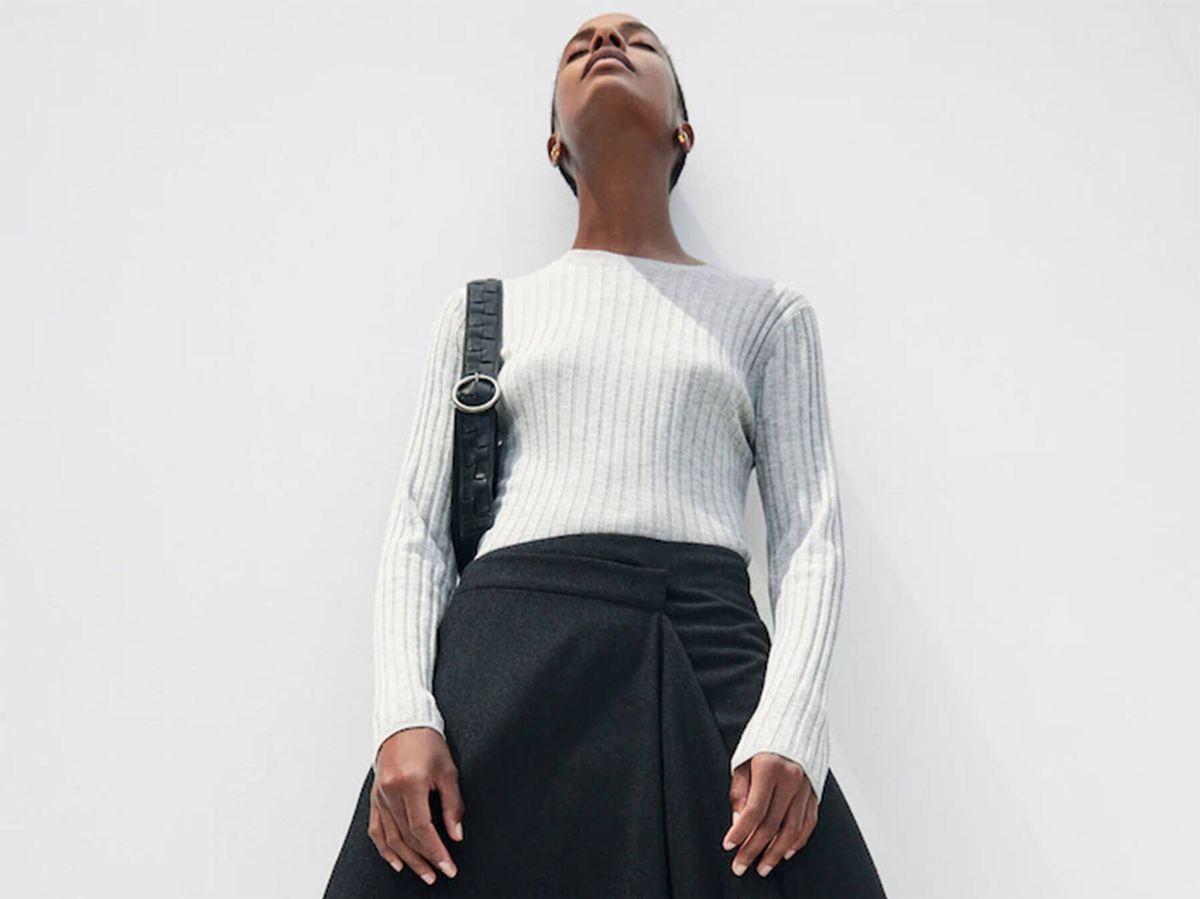 Foto: La falda midi perfecta para el invierno está en Massimo Dutti. (Cortesía)