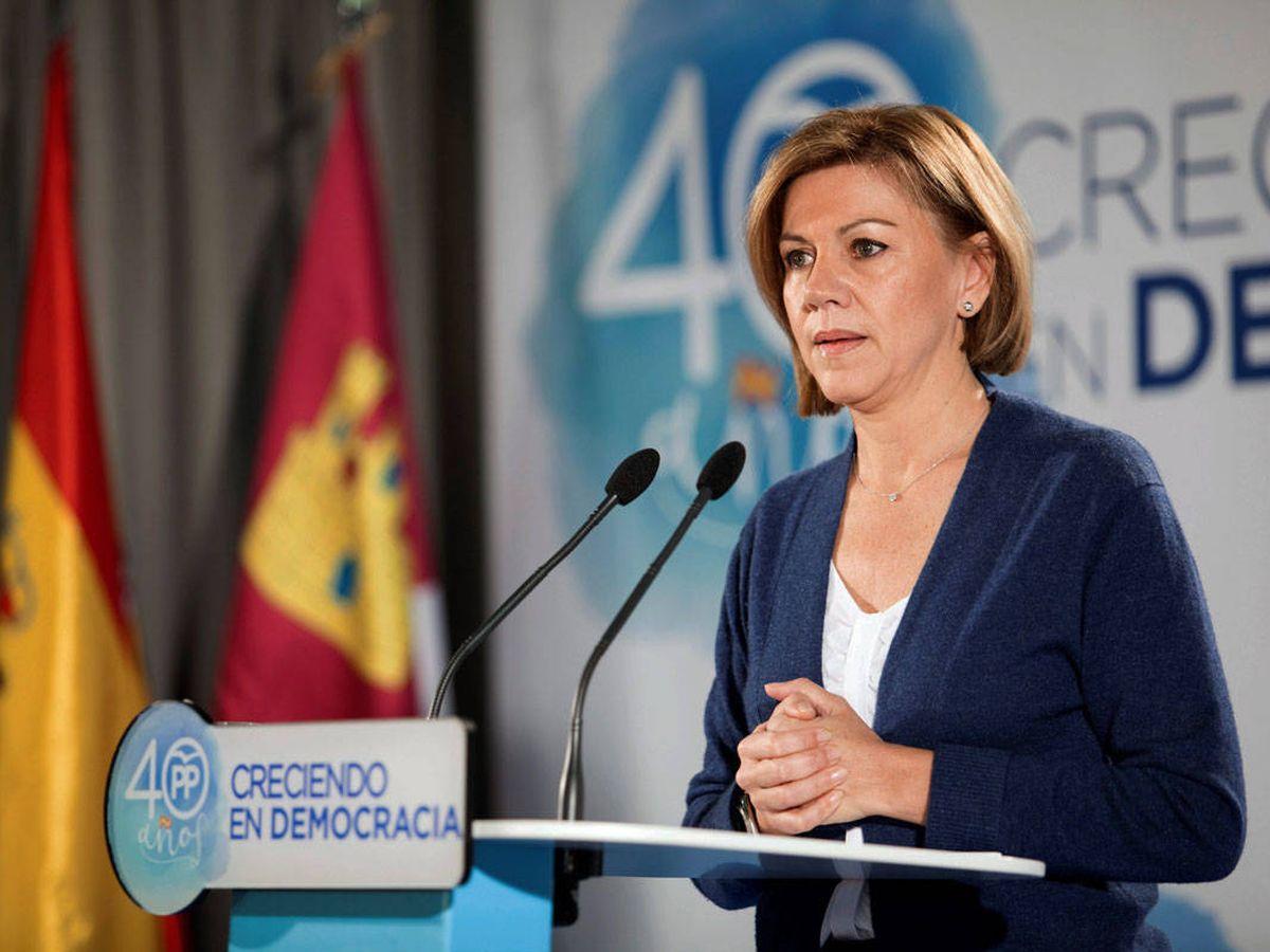 Foto: La exdiputada del Partido Popular, María Dolores de Cospedal. (EFE)