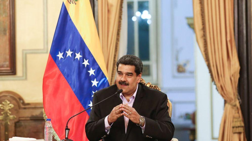 Foto: Fotografía cedida por prensa de Miraflores que muestra al presidente de Venezuela, Nicolás Maduro. (EFE)
