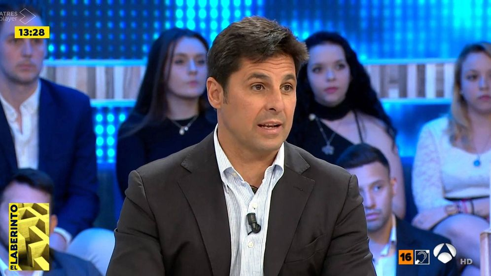Foto: Fran Rivera en 'Espejo público'. (Atresmedia Televisión)