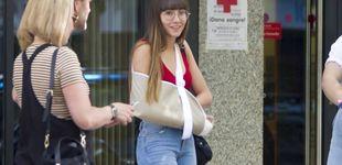 Post de Aitana tranquiliza a sus fans tras el accidente que ha tenido en la ducha