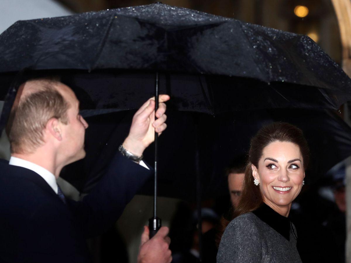Foto: Los duques de Cambridge, llegando a Westminster. (Reuters)