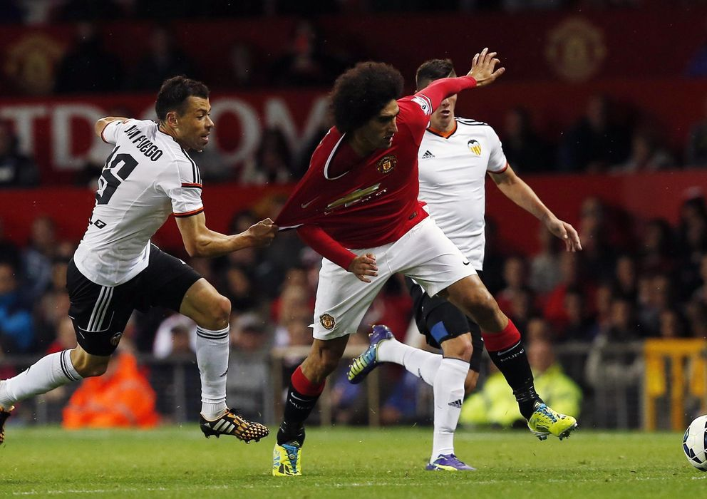 Foto: El centrocampista belga marcó el gol de la victoria (Reuters)