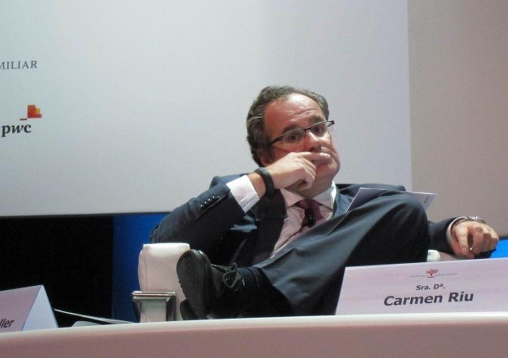 Foto: El presidente del grupo Damm, Demetrio Carceller.