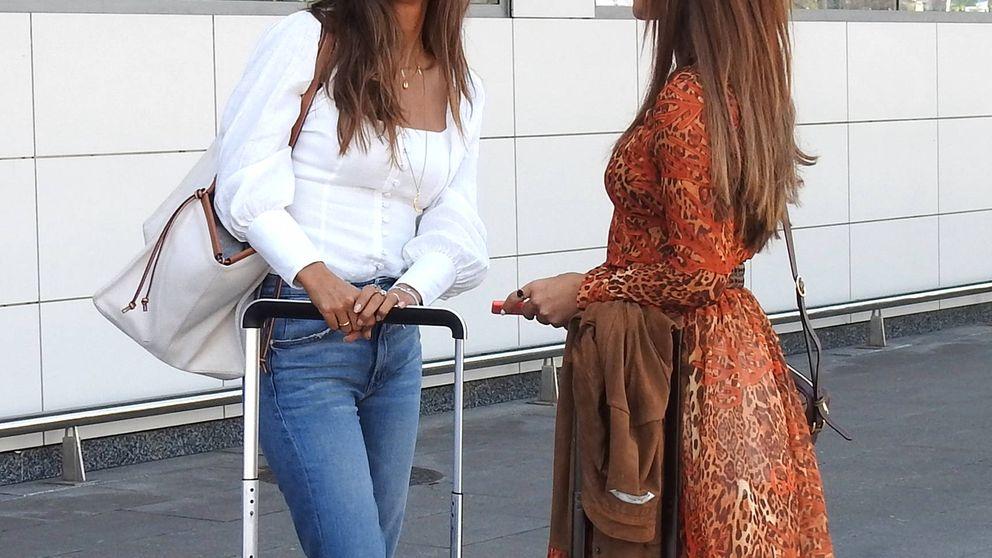 Paula Echevarría y Sara Carbonero (tras el susto de Iker Casillas) toman Ibiza