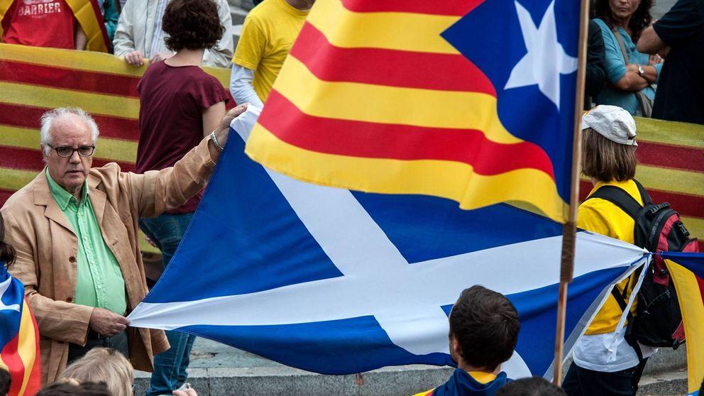 La internacional nacionalista desembarca en el 'procés' para el 1-O