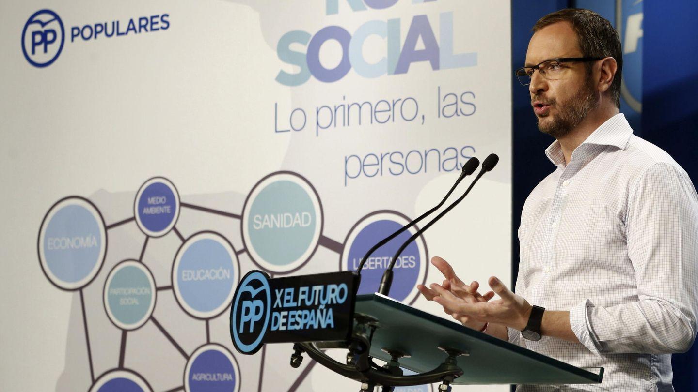 El vicesecretario general de Sectorial del PP, Javier Maroto. (EFE)