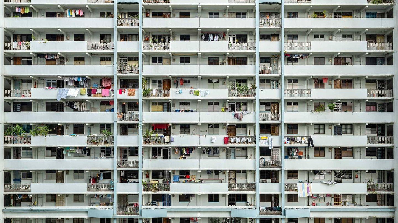 Edificio construido en 1963 en Singapur. (Reuters)