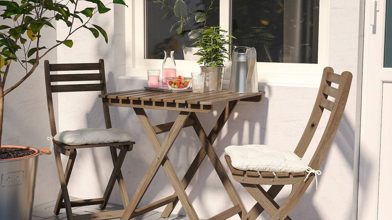 Ikea decora tu balcón aunque sea estrecho. (Cortesía)