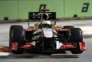 Pedro de la Rosa será sancionado con cinco posiciones en el GP de Singapur