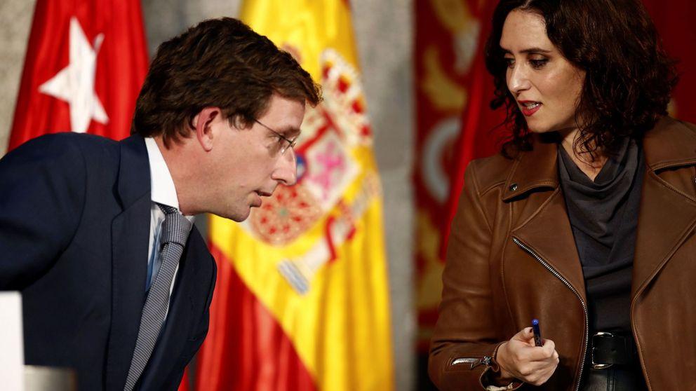Frente común de Ayuso y Almeida contra la arbitrariedad del Gobierno en Madrid