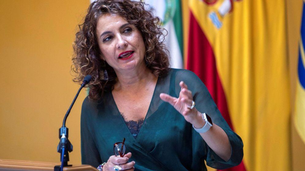 Foto: La ministra de Hacienda en funciones, Maria Jesús Montero. (EFE)