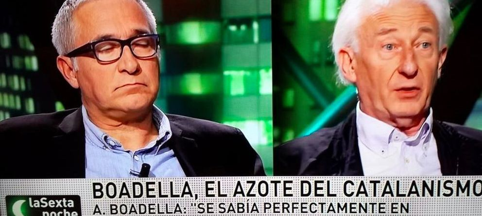Foto: Xavier Sardà y Albert Boadella en 'La Sexta Noche' (laSexta)