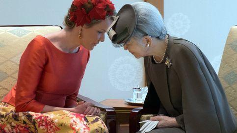 Todos los estilismos de la reina Matilde en su visita de Estado a Japón