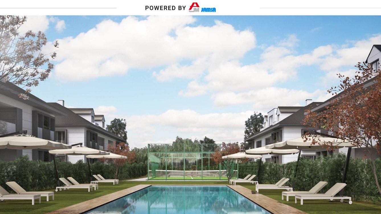 Piscina, pádel y al lado de la playa: así son las nuevas viviendas de Jamsa en Santander
