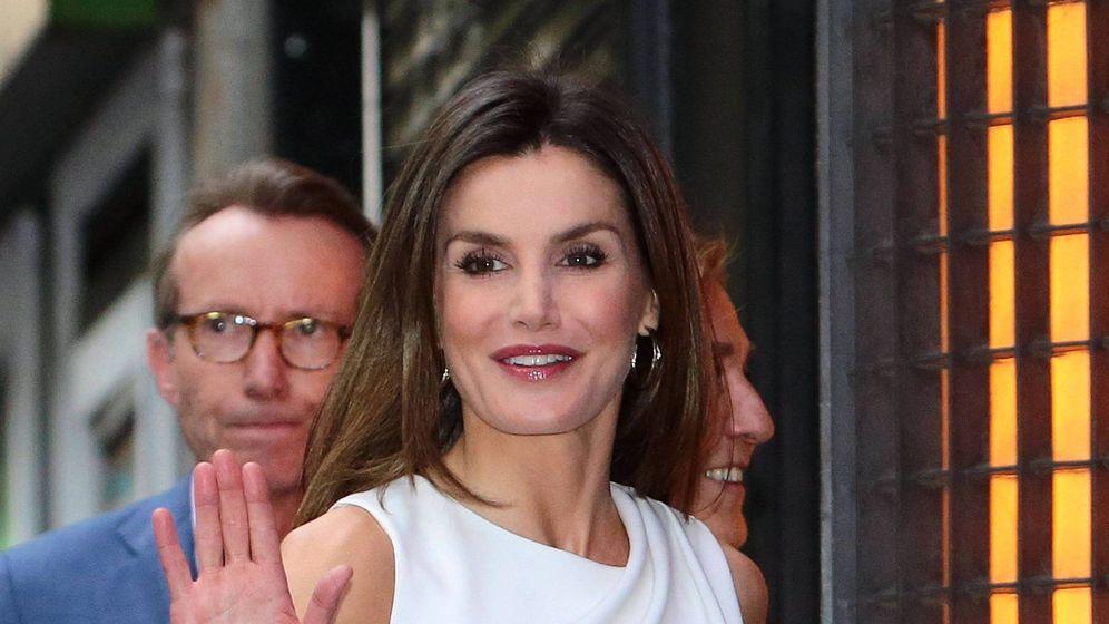 Foto: La reina Letizia en FameLab. (Cordon Press)