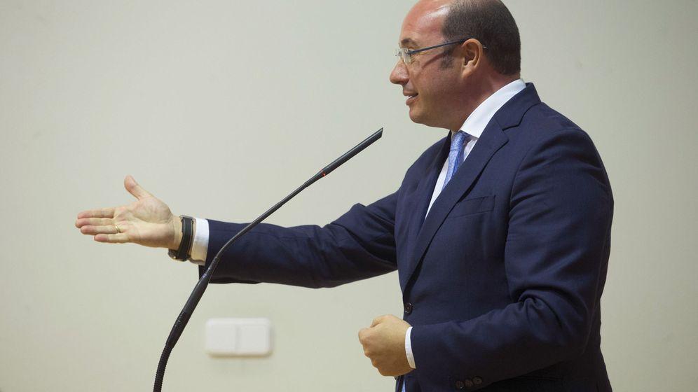 Foto: El presidente de la Región de Murcia Pedro Antonio Sánchez. (EFE)