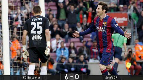 El Barça abusa de un Getafe muy lejos de ser la ayuda que necesita el Madrid