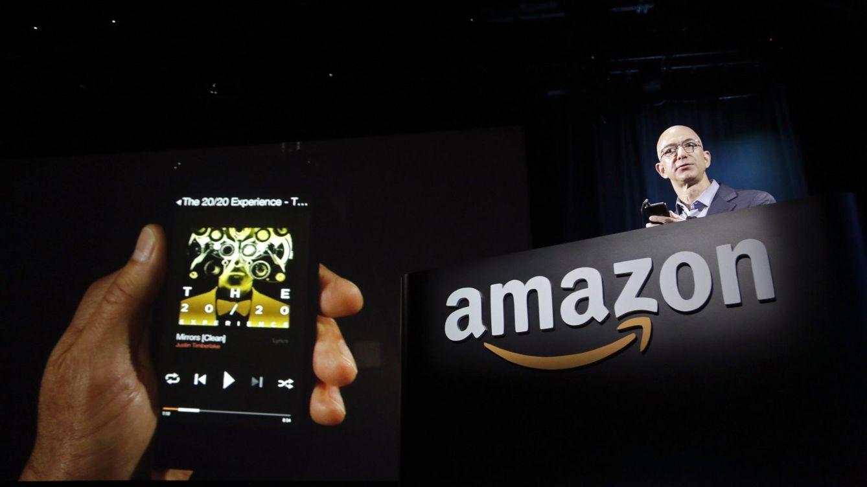 Foto: Jeff Bezos, durante una presentación en la sede de Seattle de la compañía en octubre de 2014. (Reuters/Jason Redmond)