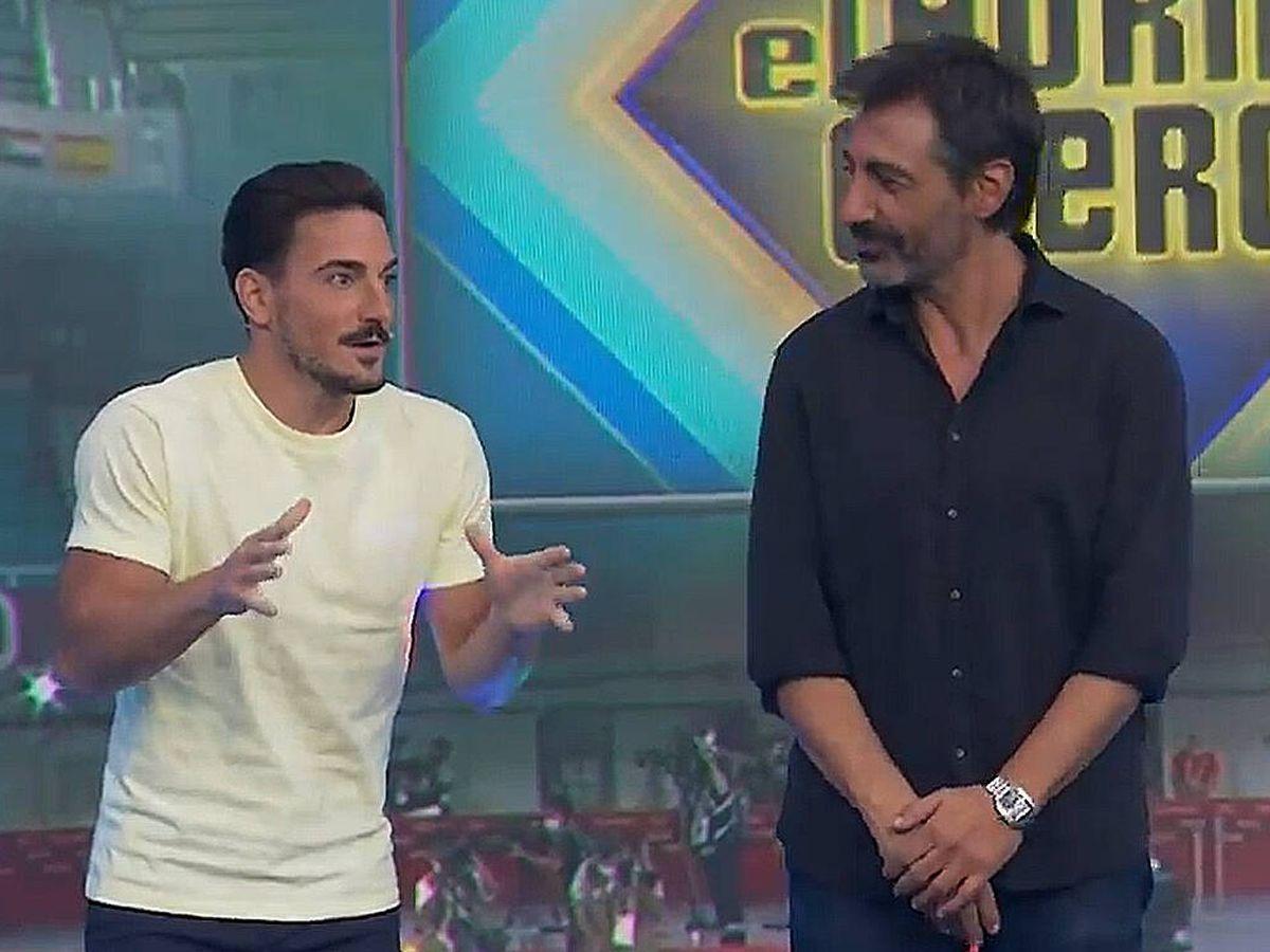 Foto: Damián Quintero y Juan del Val, en 'El hormiguero'. (Antena 3)