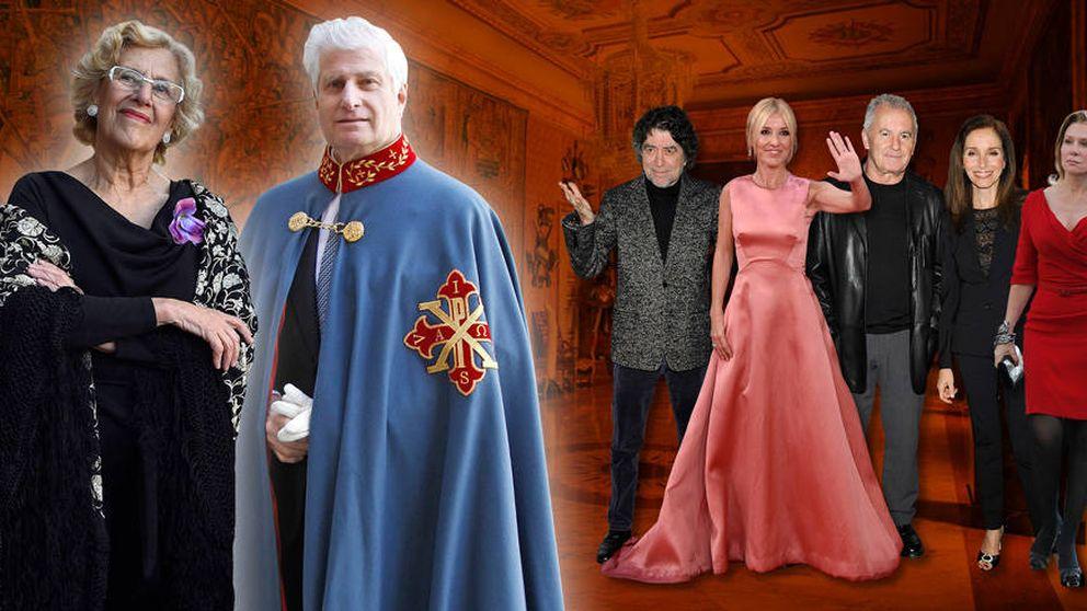 El duque de Alba abre las puertas de Liria a la izquierda caviar