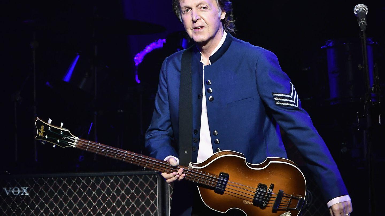 Paul McCartney en un concierto (Getty)