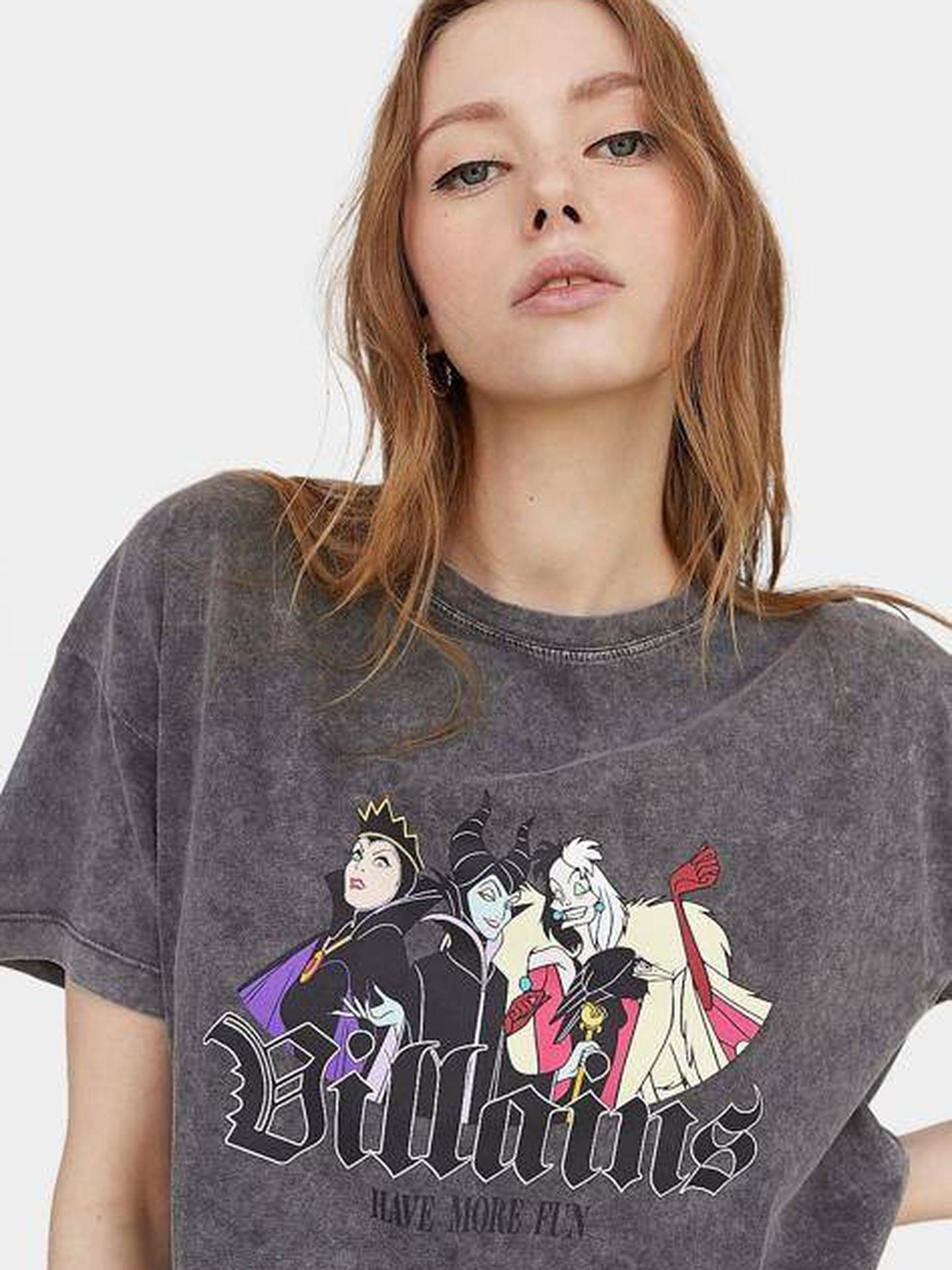 Camisetas de las villanas de Disney.  (Cortesía)