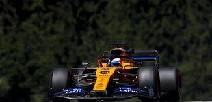 Post de McLaren y Carlos Sainz se lucen y dominan la zona media con Hamilton al frente