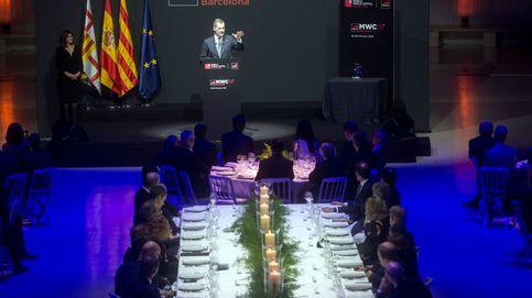 Las imágenes de la cena de inauguración del MWC
