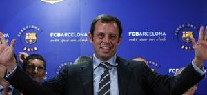 """Rosell, primeras palabras como presidente: """"El Barça es invencible"""""""