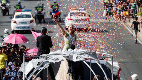 Desfile de bienvenida a la nueva Miss Universo
