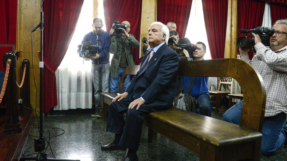 Foto: El expresidente de la Diputación y del PP de Ourense José Luis Baltar. (EFE)