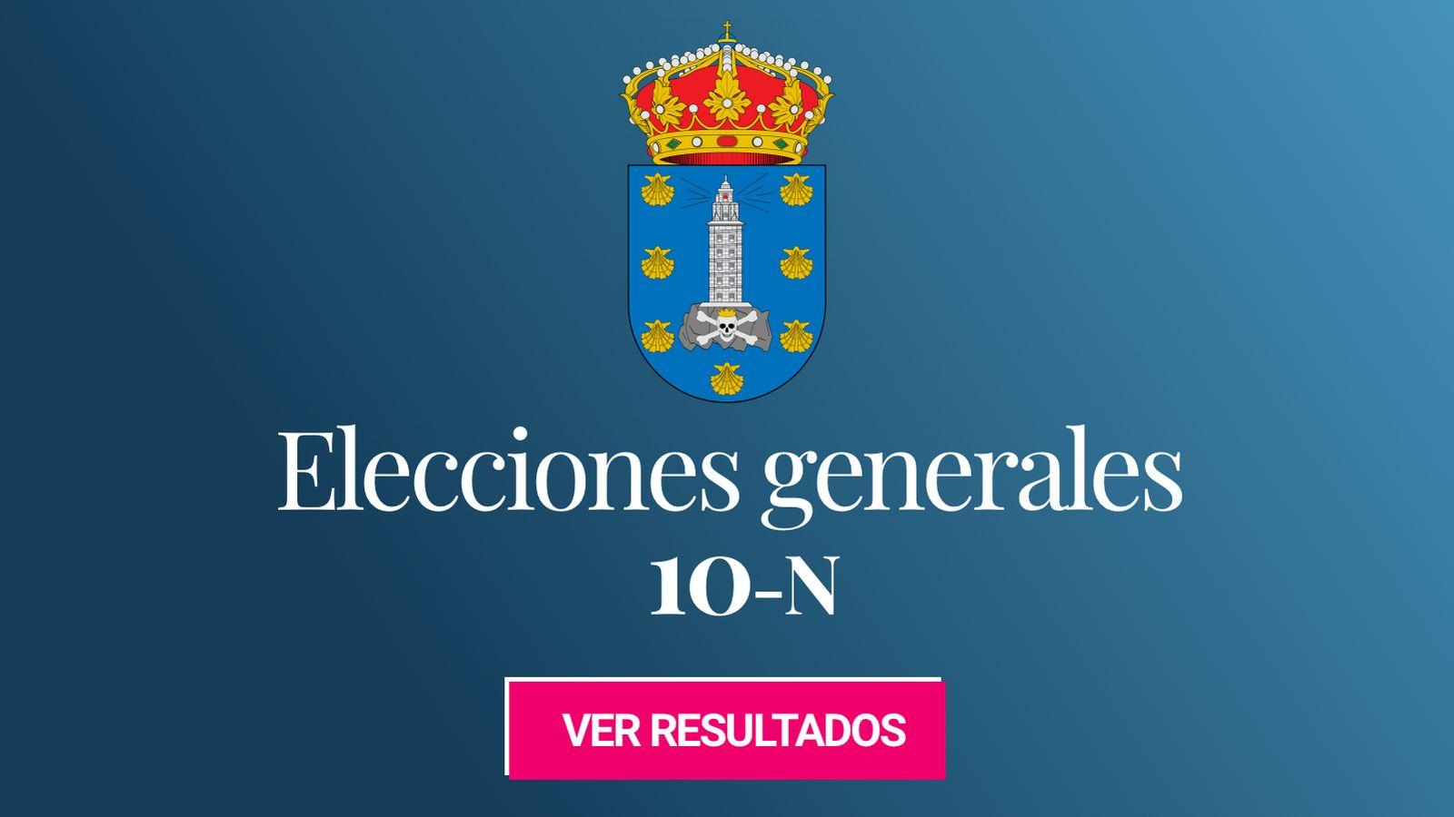 Foto: Elecciones generales 2019 en A Coruña. (C.C./EC)