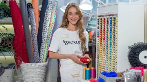 Alicia, primera ganadora de 'Maestros de la costura'