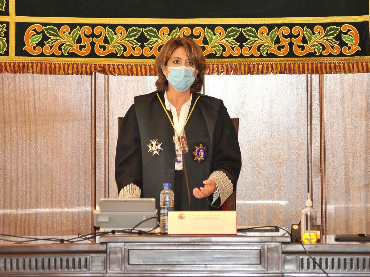 Foto:  La fiscal general del Estado, Dolores Delgado. (EFE)