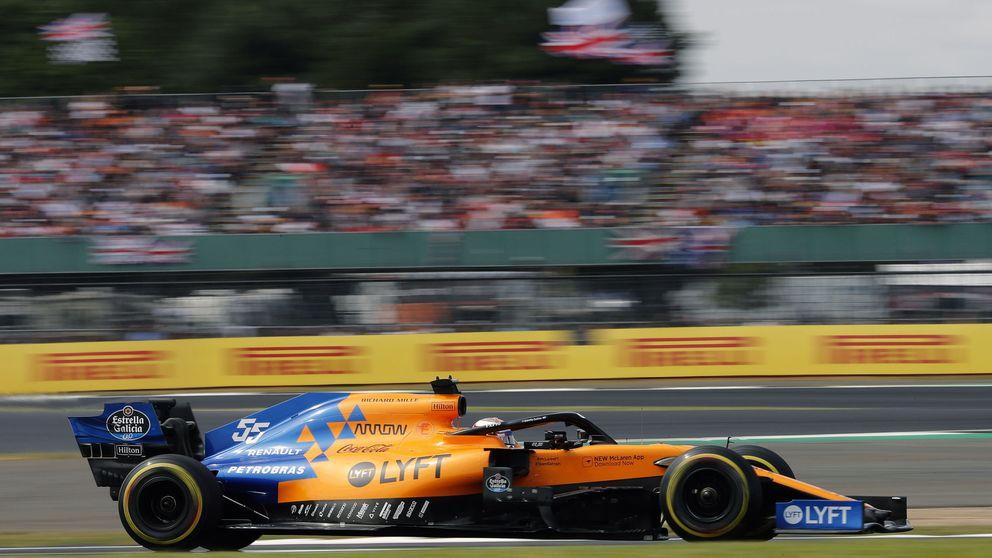 El día que Daniel Ricciardo le acarició a Carlos Sainz su 'caja de cambios'. Y dos veces