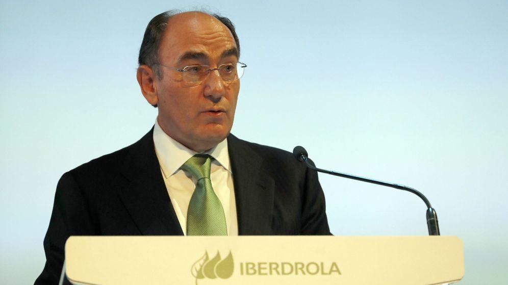 Foto: El presidente de Iberdrola, Ignacio Sánchez Galán, en un acto de la compañía. (EFE)