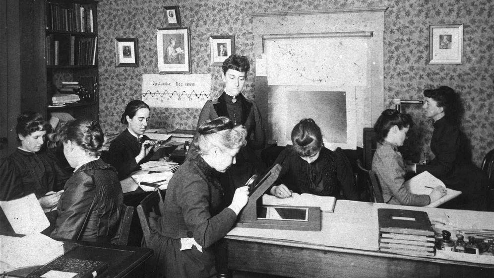 Foto: El grupo de mujeres de Harvard (Foto: Wikipedia)