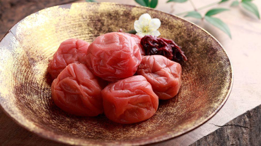 Umeboshi: la ciruela japonesa con un sabor fortísimo