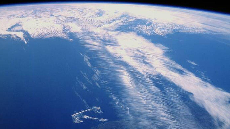 Corriente en Chorro Polar sobre el Atlántico Norte. Foto: NASA