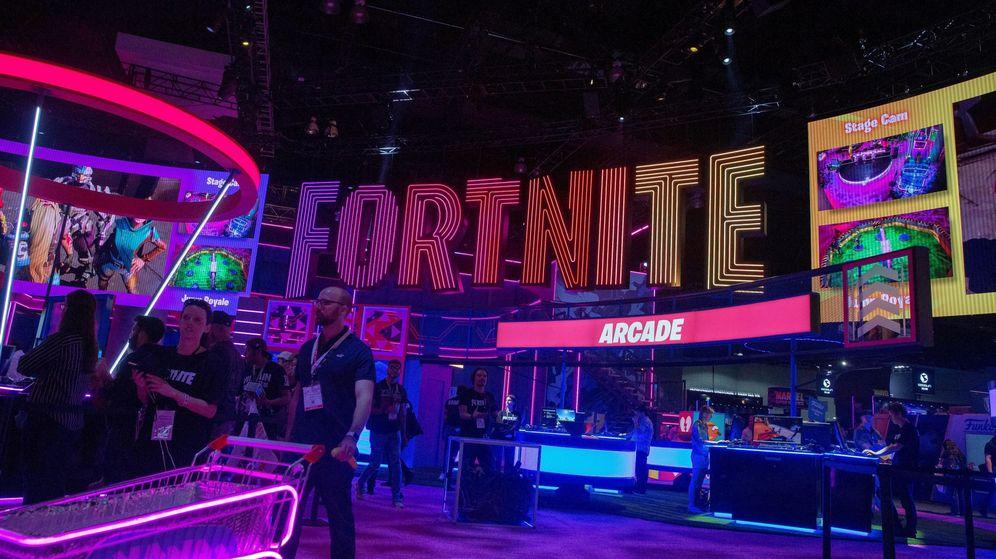 Foto: logo del famoso videojuego Fortnite. (Efe)