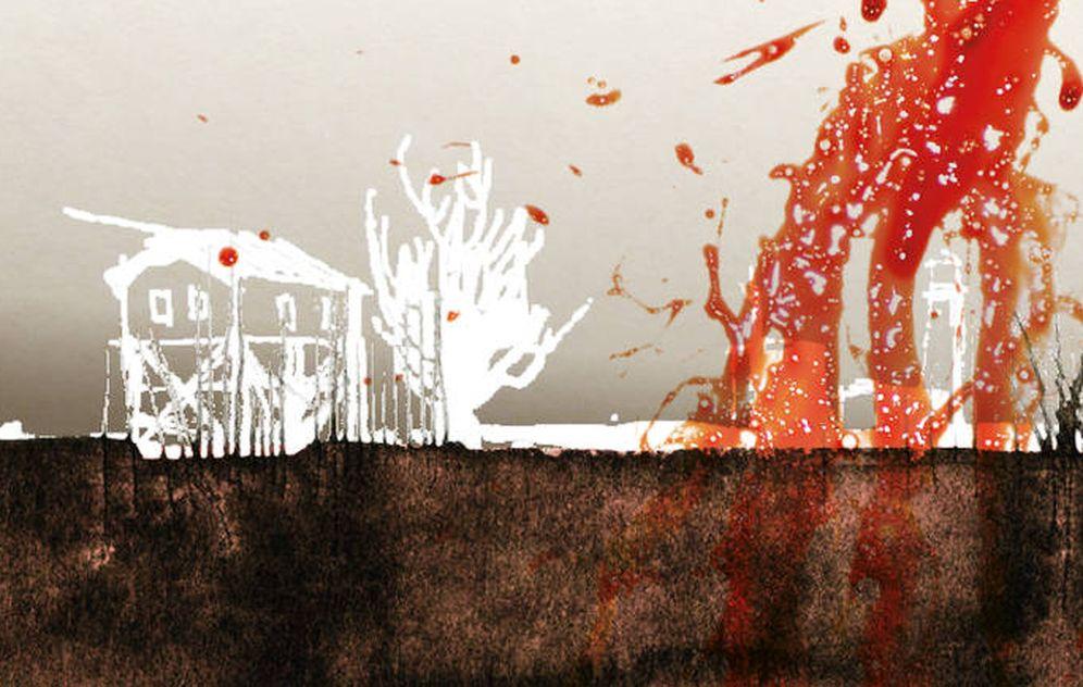 Foto: Detalle de portada de 'Un plan sangriento' (Impedimenta)