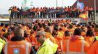 Los estibadores desconvocan la huelga prevista para el próximo 6 y 8 de marzo